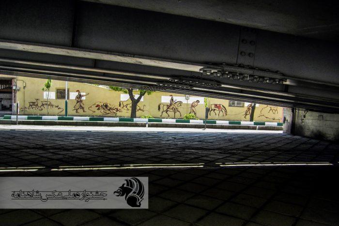 پلی در زمان . پل کریمخان عکاس : همایون مهرزاد . تهران
